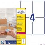 Etykieta wysyłkowa na paczki 99,1 x 139 100 ark. kryjąca Avery Zweckform L7169B-100