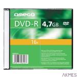 Płyta OMEGA DVD-R 4,7GB 16X CASE (10) OMD1610-
