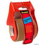 Mini dyspenser do taśm SCOTCH_ (C.5020.D), w zestawie taśma pakową, 48mmx20,3m, czerwony