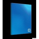 Brulion TOPCOLOR2.0 SZY B5 160K 70G niebieski 400133404