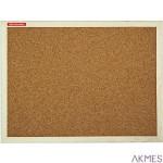 Tablica korkowa 80x50 rama drewniana TC85 AMEX