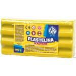 Plastelina Astra 500g żółta 303117003 ASTRA
