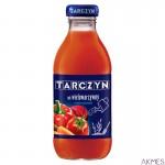 TARCZYN sok WIELOWARZYWNY z dodatkiem soku jabłkowego 300ml butelka szkło