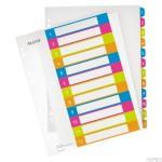 Przekładki plastikowe do nadruku tekstu na kartę, LETIZ WOW, 1-12