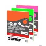 Fluorescencyjne etykiety samoprzylepne żółte kółka 40mm 25 arkuszy Emerson ETOKZOL02x025x010