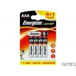 Bateria alkaliczna ENERGIZER ULTRA PLUS LR03 AAA (4+1szt)