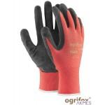 Rękawice powlekane nylonowo-lateksowe L - 9 OGRIFOX OX-LATEKS CB 9