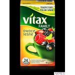 Herbata VITAX FAMILY OWOCE LEŚNE (24 saszetek) bez zawieszki