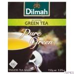 Herbata DILMAH PURE GREEN TEA zielona 100 torebek x1,5g